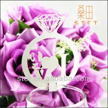 Wholesale Diamond Shape Laser Cut Paper Card