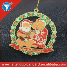 custom design China Christmas apple ornaments wholesale