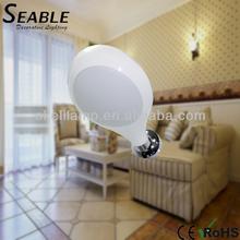 Modern white color wall lamps E27 socket suit for energy saving bulb