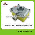 montaje en la pared de seguridad dispositivo de óxido nítrico y dióxido de azufre de gas el análisis de las alarmas