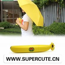 Hot sell fashion creative buy bulk umbrellas yellow and green
