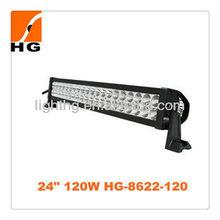 "24"" 120W outdoor bar light led light bar auto bar HG8622-120"