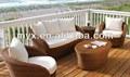 restaurante do jardim preço de fábrica uso tela ao ar livre mobiliário sofá de bambu