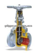 rising stem gate valve,cast steel