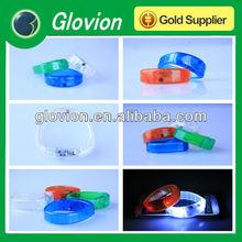 New design 2014 Sound Activated LED Bracelet super bright led bracelet for happy new year