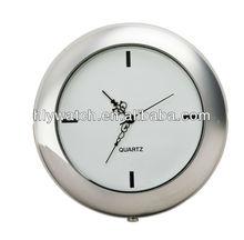 2014 classic design blue clock insert beautiful japan movement quartz digital round clock insert for desk clocks decorations