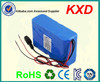 18650 lithium ion rechargable battery 24v 10ah high quality