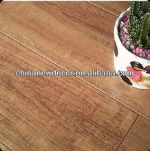 12mm e1 bois de pin blanc revêtement de sol stratifié