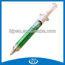 Promotion Style Syringe Shaped Pen,Plastic Barrel Pen Syringe
