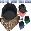 dual foldable silicone travel pet bowl