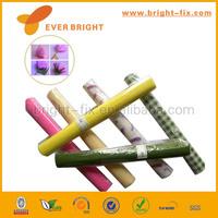 Printed design colorful raw nature wood crepe paper