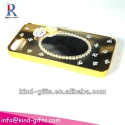 New Bling Rhinestone Mirror Case Cartoon Phone Cases With Mirror