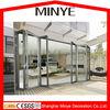 German brand hardware high quality bi folding door /Double glazing aluminium bifold door / Aluminum&Wood folding door