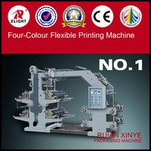 PVE PE PP Film printing machine,colors register machine,letterpress 4 colors printing machines