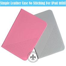 Fashionable Book Style PU Leather Stand Cover For iPad Mini U5001-119