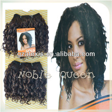 2014 Fashion Rebecca Noble Gold Hair HRW-PQ443 Synthetic Kinky Afro Hair Weave