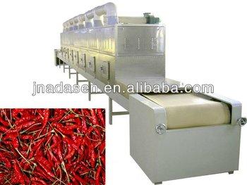 Spice powder chili powder microwave dehydrator/drier equipment machinery