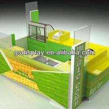 2014 Retail juice bar kiosk /juice bar counter/bubble tea kiosk for sale