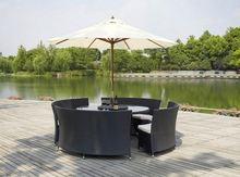 All Weather garden furniture round bench