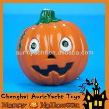 light up plastic pumpkin,lighted halloween plastic pumpkins ZH0908251