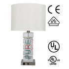UL bed table lamps A-E26