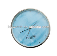 Round blue dial 80mm clock insert replacement fit for wall clock beautiful home decorations cheap factory direct insert clocks