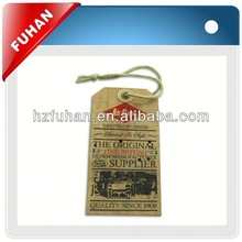 high quality garment label/delicate key tag