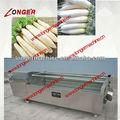 Ravanello bianco automatico di pulizia e peeling machine|potato cleanig machine|potato peeling maching