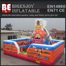 Bigenjoy Design Kids Inflatable Amusement Park,Inflatable Fun City Castle