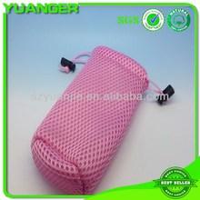 Top quality modern mesh nylon drawstring swim bag