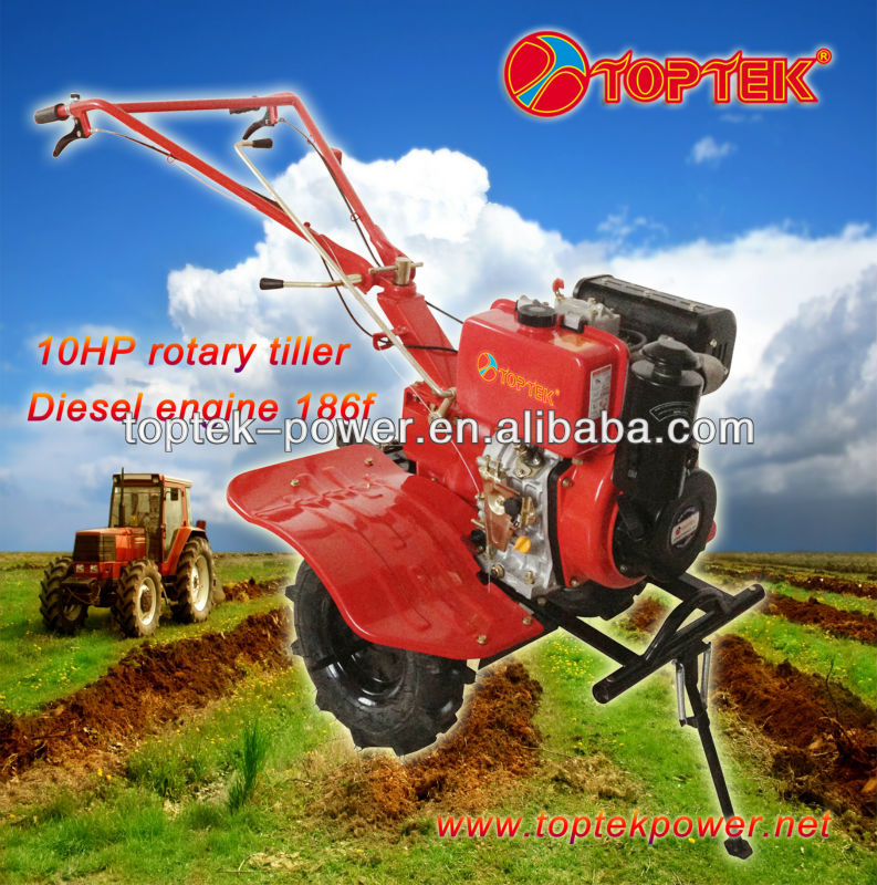 hot sale mini tiller 10hp powerful and easy operation