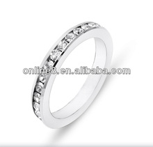hot sale new design fashion stainless steel ring adjustable ring jewelry
