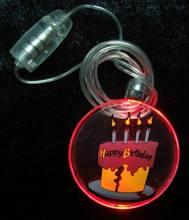 Promotion party led flash necklace
