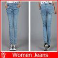 Fashin 2014 baratos mujeres skinny jeans, pantalones vaqueros
