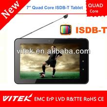 7 inch ISDB MID Portable DVB-T2 Tablet