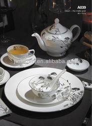 A036 elegant design porcelain houseware and kitchen product