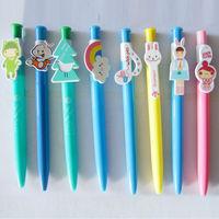 China Cute Plastic Cartoon Individual Pen Clip