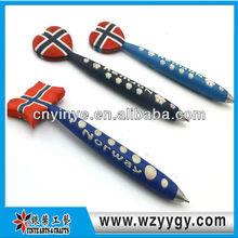 2014 New design soft pvc pen