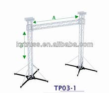 outdoor aluminum truss tv stand event