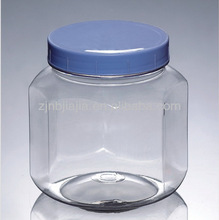 Wholesale Bulk Clear Plastic PET Bottles Screwed Cap