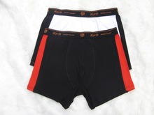 Hot elastic cotton antimicrobial great nylon spandex mens underwear trunks