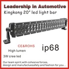 2014 NEW ARRIVAL led light bars 20 cree for trucks /SUV CREE high power cree led bar