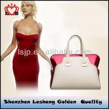 2014 HOT! fashion handbag trendy studded handbag,tote leather bags woman handbag&leather purses handbags pictures price