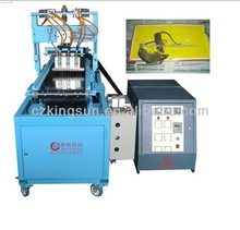 All-automatic fly trap hot melt glue paper making machine/production line
