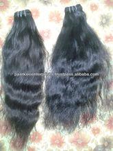 6a Natural Black 2 Bundles Unprocessed Virgin Remy Brazillian wavy Hair
