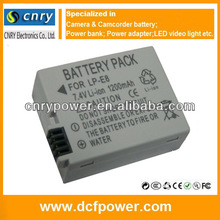 LPE8 LP-E8 Battery Pack FOR Canon Camera EOS 550D 600D Rebel T3i T2i