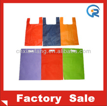 Customize cheap non woven tnt shopping bags/nonwoven gift bag/t-shirt bag