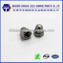 Stainless steel crown nut acorn nuts