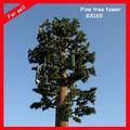 30m camuflada monopolo pinheiro torre de comunicação lifelike esconder antena torre