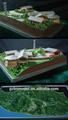 نموذج العقارات/ فيلا مجسم/ صنع طراز العمارة